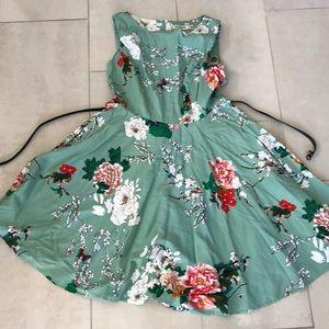 Grace Karin floral dress